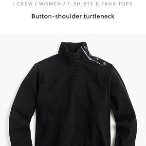 Black J crew sweatshirt - worn once